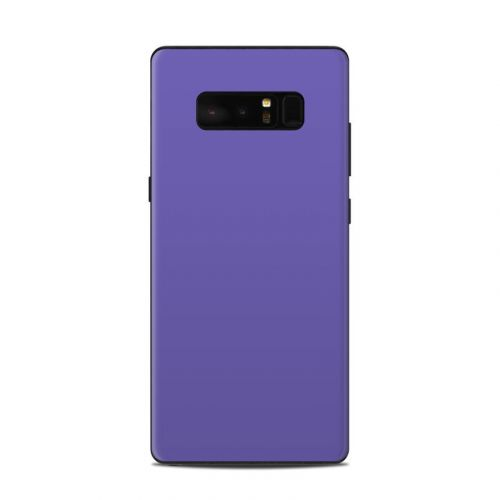 Solid State Purple Samsung Galaxy Note 8 Skin
