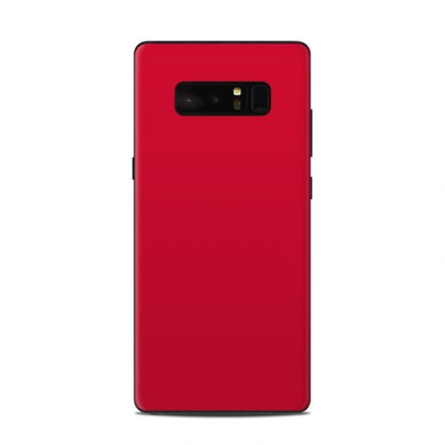 Solid State Red Samsung Galaxy Note 8 Skin