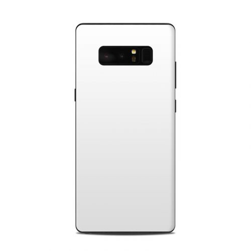 Solid State White Samsung Galaxy Note 8 Skin