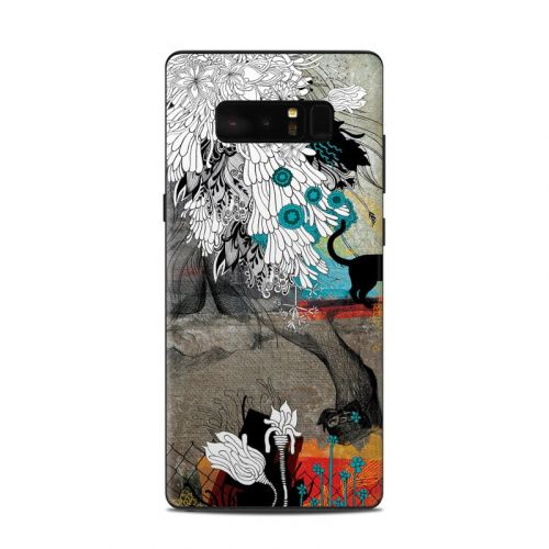 Stay Awhile Samsung Galaxy Note 8 Skin