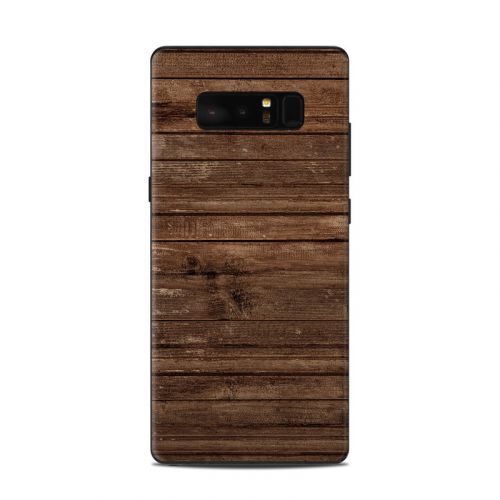 Stripped Wood Samsung Galaxy Note 8 Skin