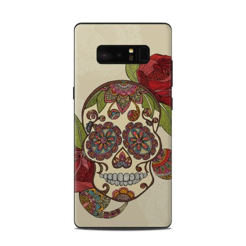 Sugar Skull Samsung Galaxy Note 8 Skin
