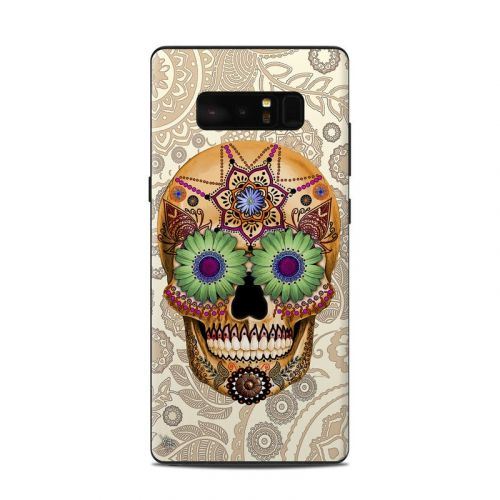 Sugar Skull Bone Samsung Galaxy Note 8 Skin