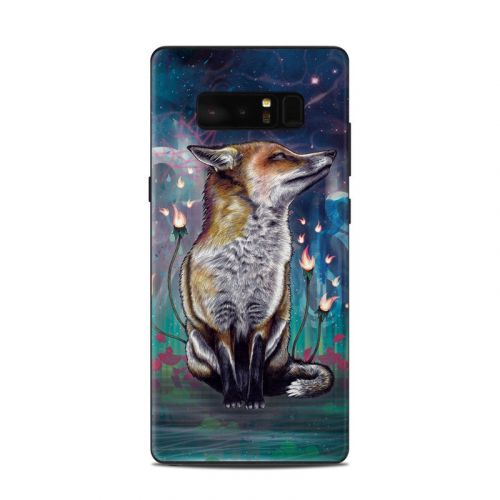 There is a Light Samsung Galaxy Note 8 Skin