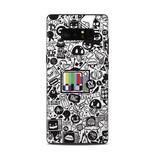 TV Kills Everything Samsung Galaxy Note 8 Skin