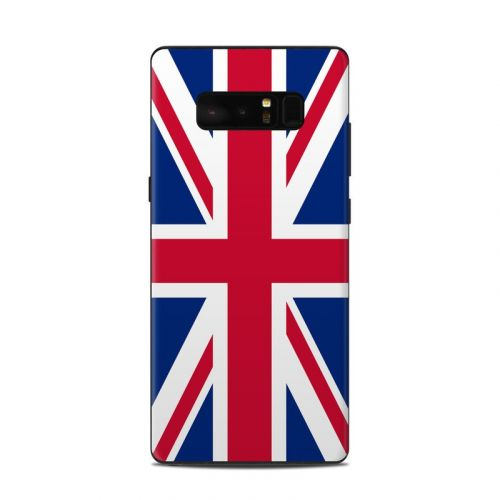 Union Jack Samsung Galaxy Note 8 Skin