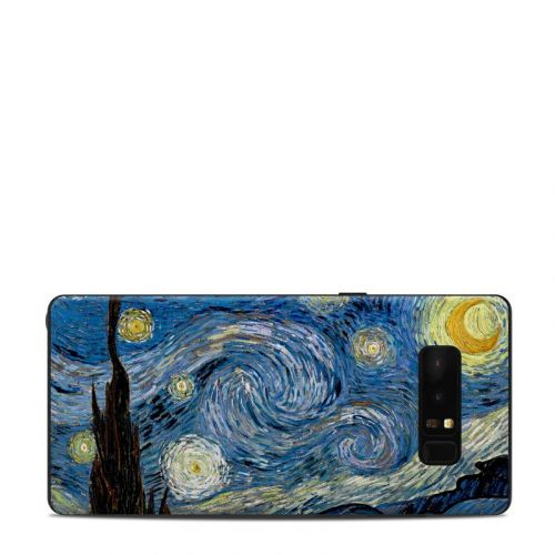 Starry Night Samsung Galaxy Note 8 Skin