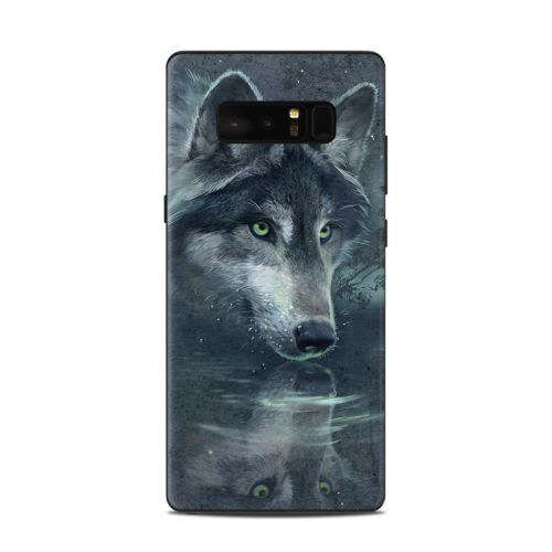 Wolf Reflection Samsung Galaxy Note 8 Skin
