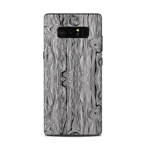 Woodgrain Samsung Galaxy Note 8 Skin