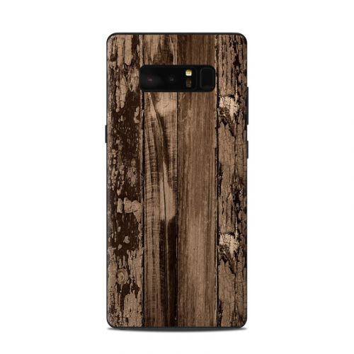 Weathered Wood Samsung Galaxy Note 8 Skin