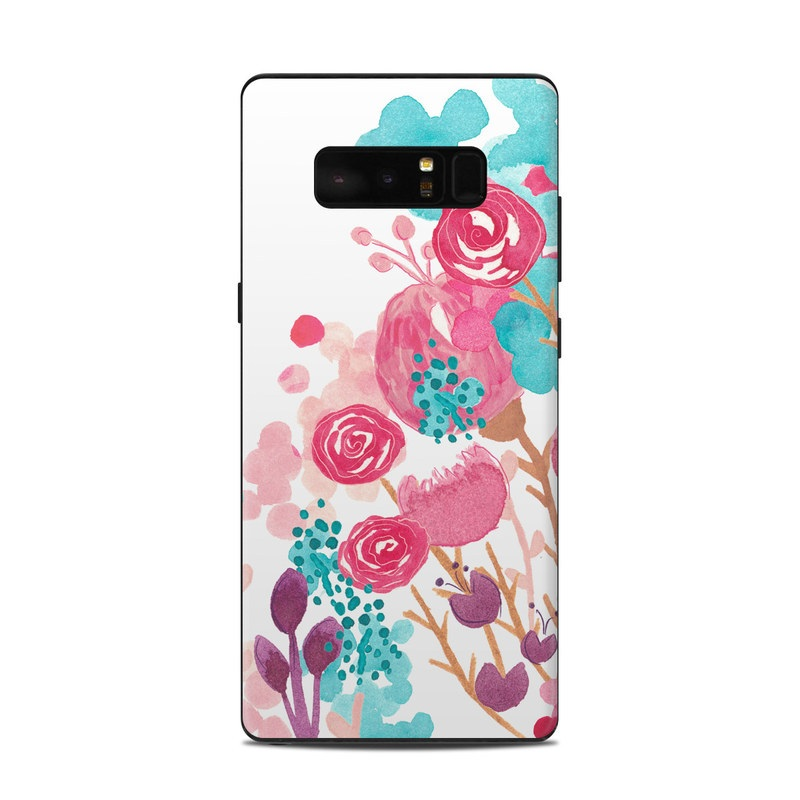 Blush Blossoms Samsung Galaxy Note 8 Skin