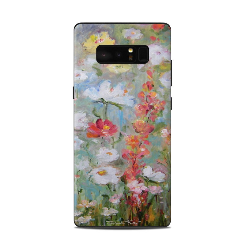 Flower Blooms Samsung Galaxy Note 8 Skin