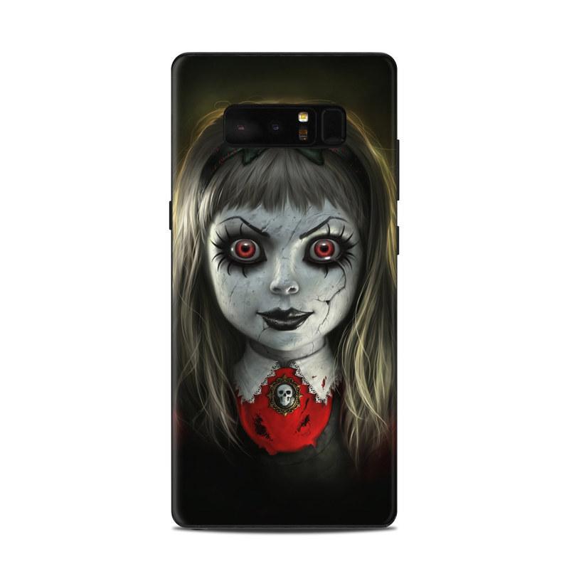 Haunted Doll Samsung Galaxy Note 8 Skin