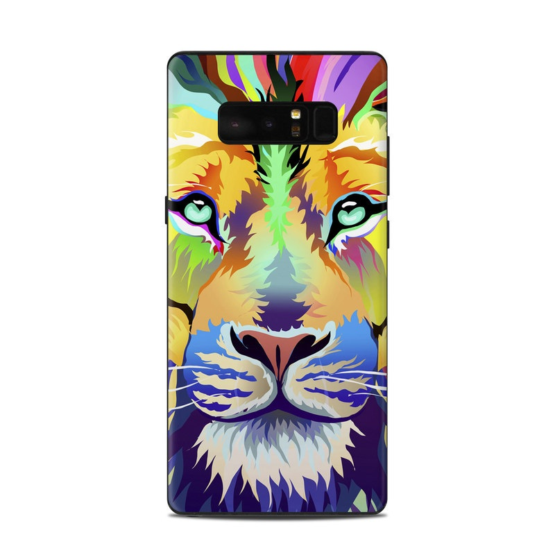 King of Technicolor Samsung Galaxy Note 8 Skin