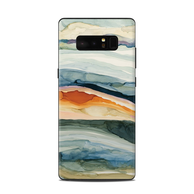 Layered Earth Samsung Galaxy Note 8 Skin