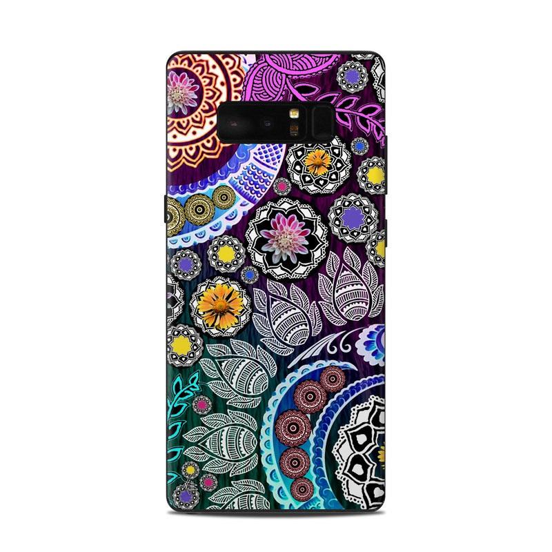 Mehndi Garden Samsung Galaxy Note 8 Skin