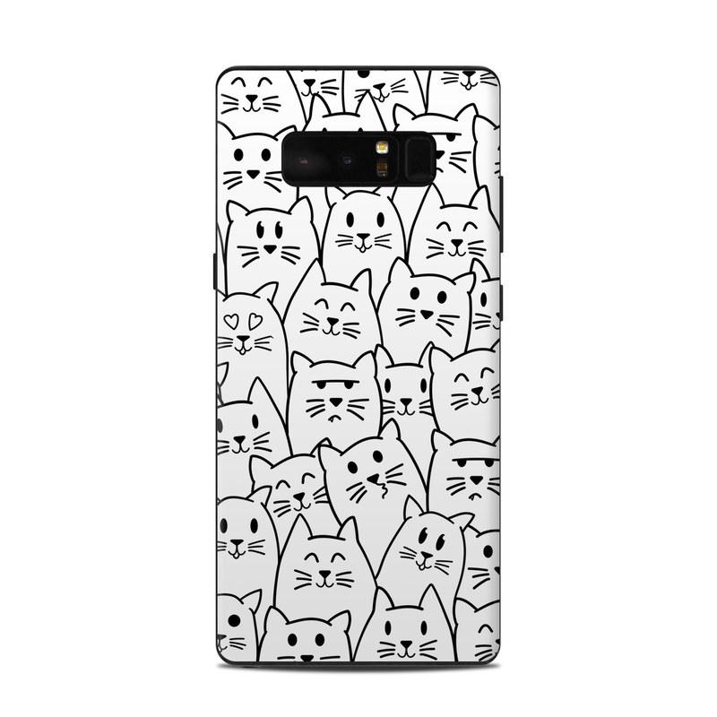 Moody Cats Samsung Galaxy Note 8 Skin