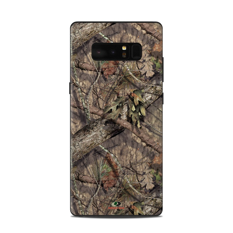 Samsung Galaxy Note 8 Skin design of shellbark hickory, Camouflage, Tree, Branch, Trunk, Plant, Leaf, Adaptation, Wood, Twig with orange, green, red, black, gray colors