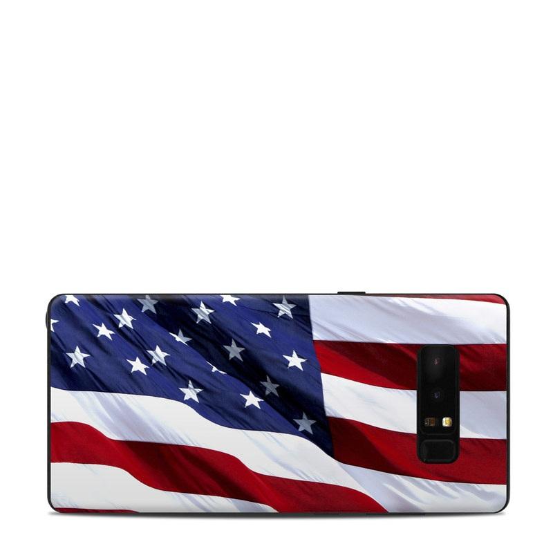 Patriotic Samsung Galaxy Note 8 Skin