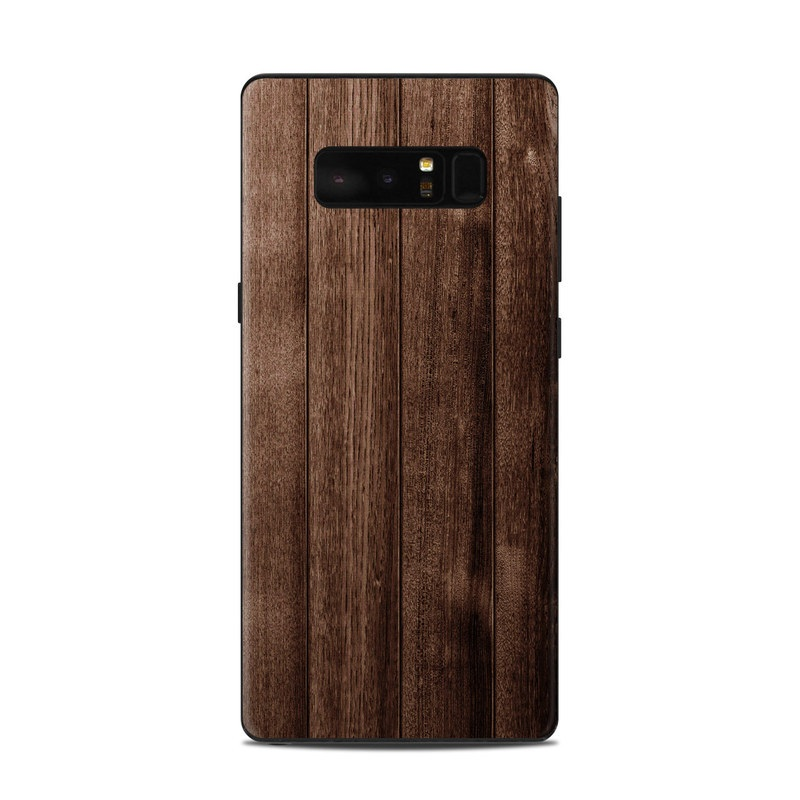 Stained Wood Samsung Galaxy Note 8 Skin