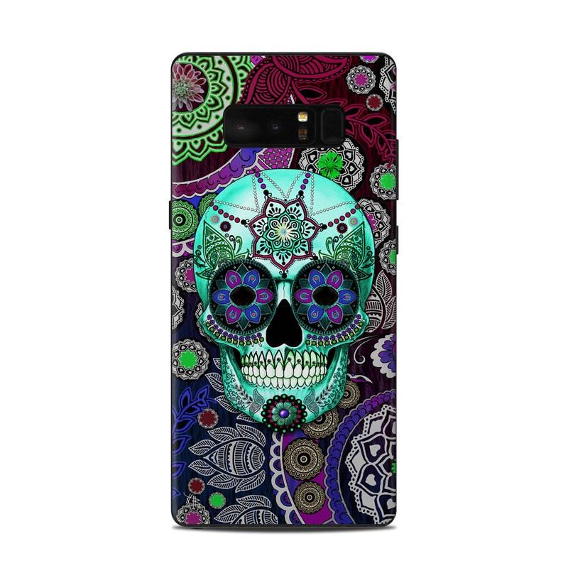 Sugar Skull Sombrero Samsung Galaxy Note 8 Skin