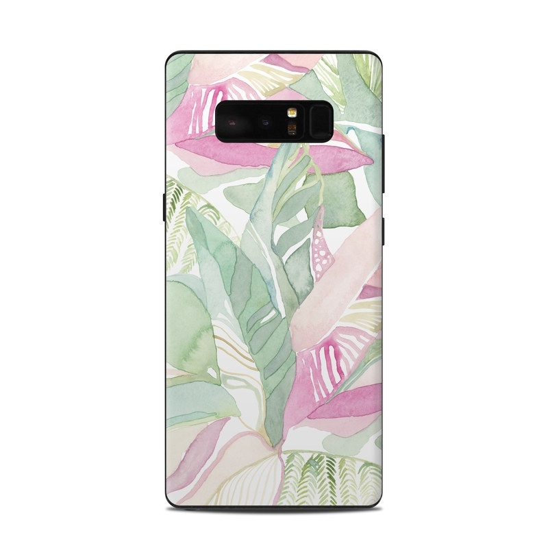 Tropical Leaves Samsung Galaxy Note 8 Skin