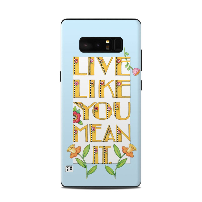 Mean It Samsung Galaxy Note 8 Skin