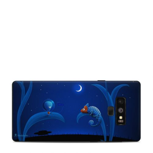 Alien and Chameleon Samsung Galaxy Note 9 Skin