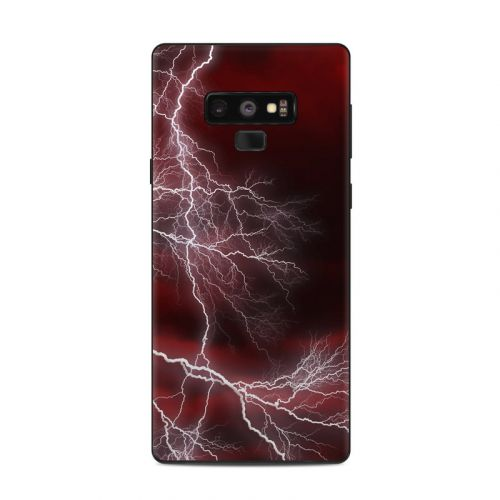Apocalypse Red Samsung Galaxy Note 9 Skin