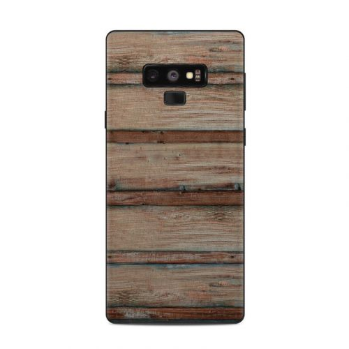 Boardwalk Wood Samsung Galaxy Note 9 Skin