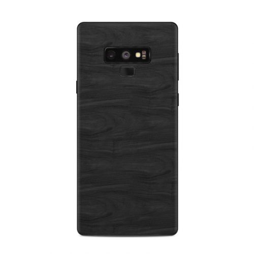 Black Woodgrain Samsung Galaxy Note 9 Skin