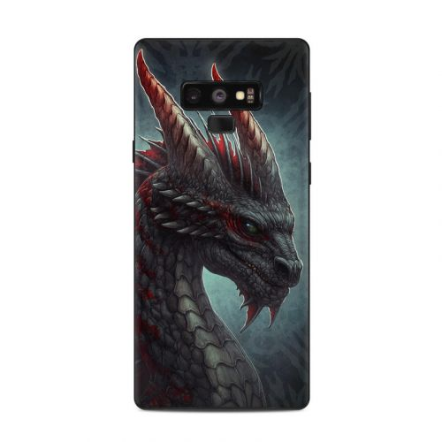 Black Dragon Samsung Galaxy Note 9 Skin