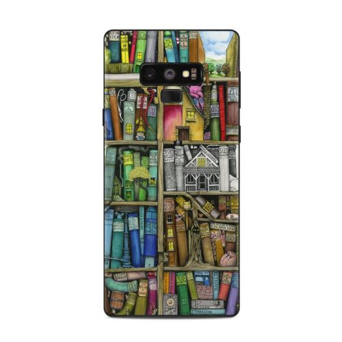 Bookshelf Samsung Galaxy Note 9 Skin