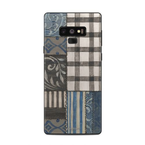 Country Chic Blue Samsung Galaxy Note 9 Skin
