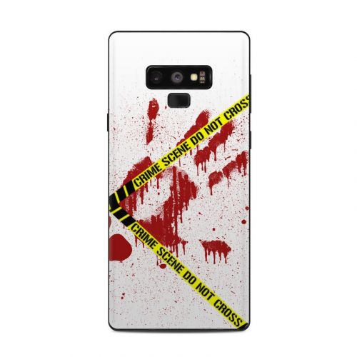 Crime Scene Revisited Samsung Galaxy Note 9 Skin