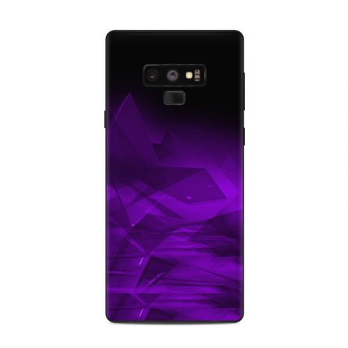 Dark Amethyst Crystal Samsung Galaxy Note 9 Skin