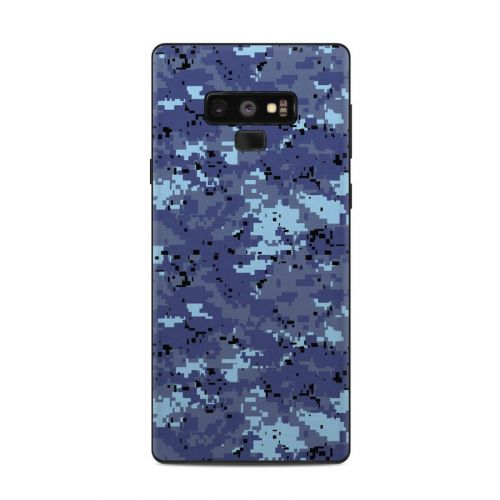 Digital Sky Camo Samsung Galaxy Note 9 Skin