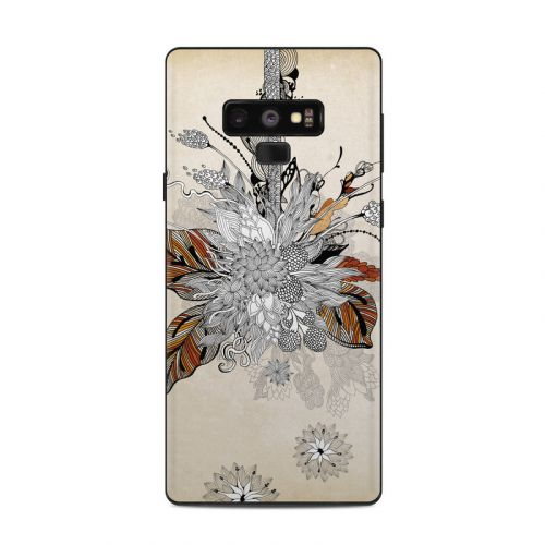 Fall Floral Samsung Galaxy Note 9 Skin
