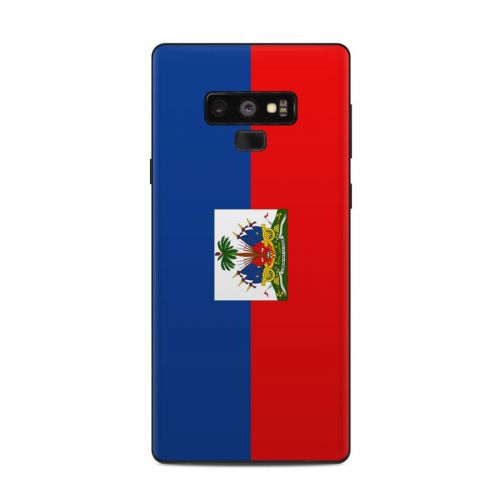 Haiti Flag Samsung Galaxy Note 9 Skin