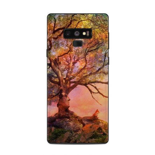 Fox Sunset Samsung Galaxy Note 9 Skin