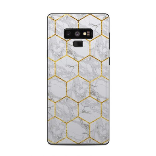 Honey Marble Samsung Galaxy Note 9 Skin