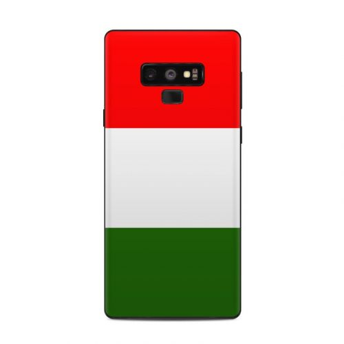 Italian Flag Samsung Galaxy Note 9 Skin