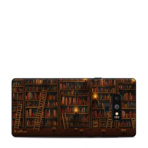 Library Samsung Galaxy Note 9 Skin