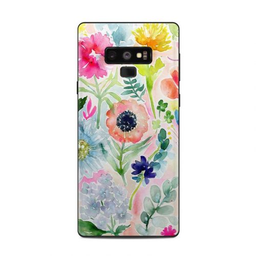 Loose Flowers Samsung Galaxy Note 9 Skin