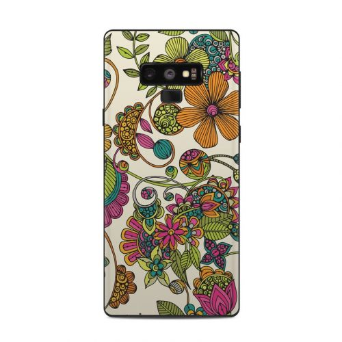Maia Flowers Samsung Galaxy Note 9 Skin