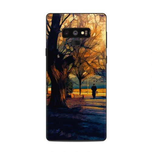Man and Dog Samsung Galaxy Note 9 Skin