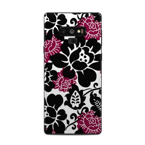 Rose Noir Samsung Galaxy Note 9 Skin