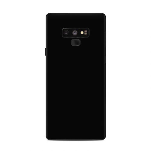 Solid State Black Samsung Galaxy Note 9 Skin