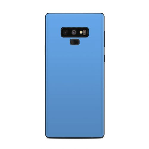 Solid State Blue Samsung Galaxy Note 9 Skin