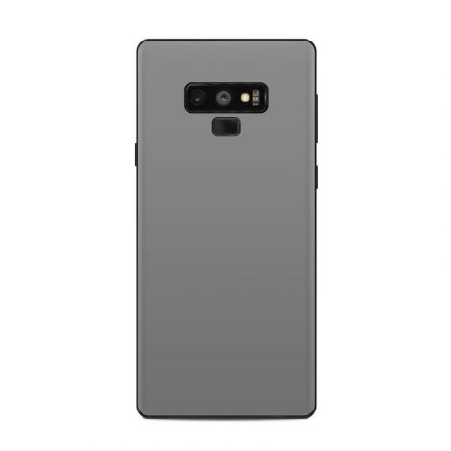 Solid State Grey Samsung Galaxy Note 9 Skin